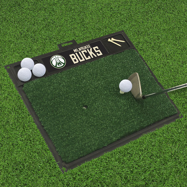 Milwaukee Bucks Golf Hitting Mat