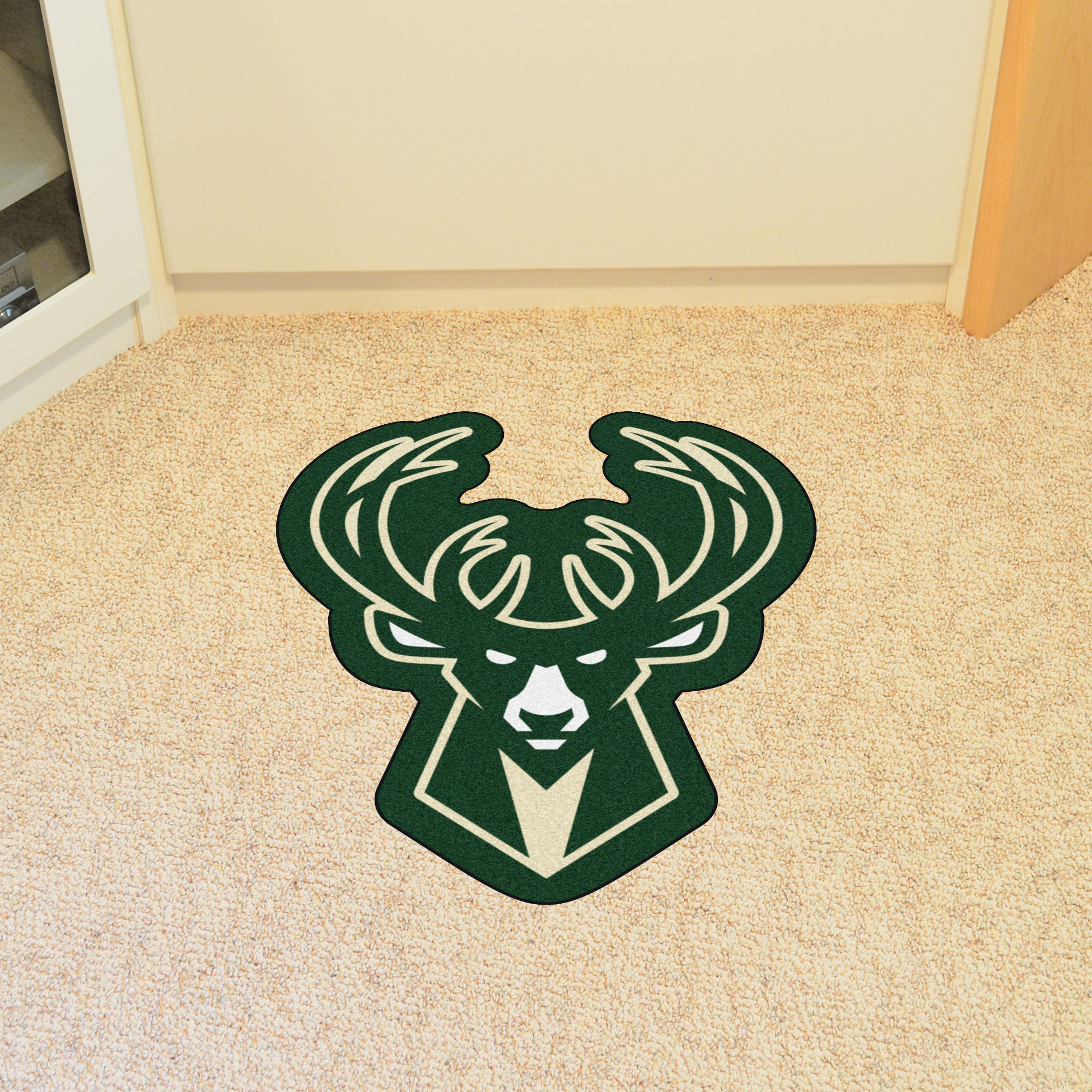 Milwaukee Bucks NBA Mascot Mat