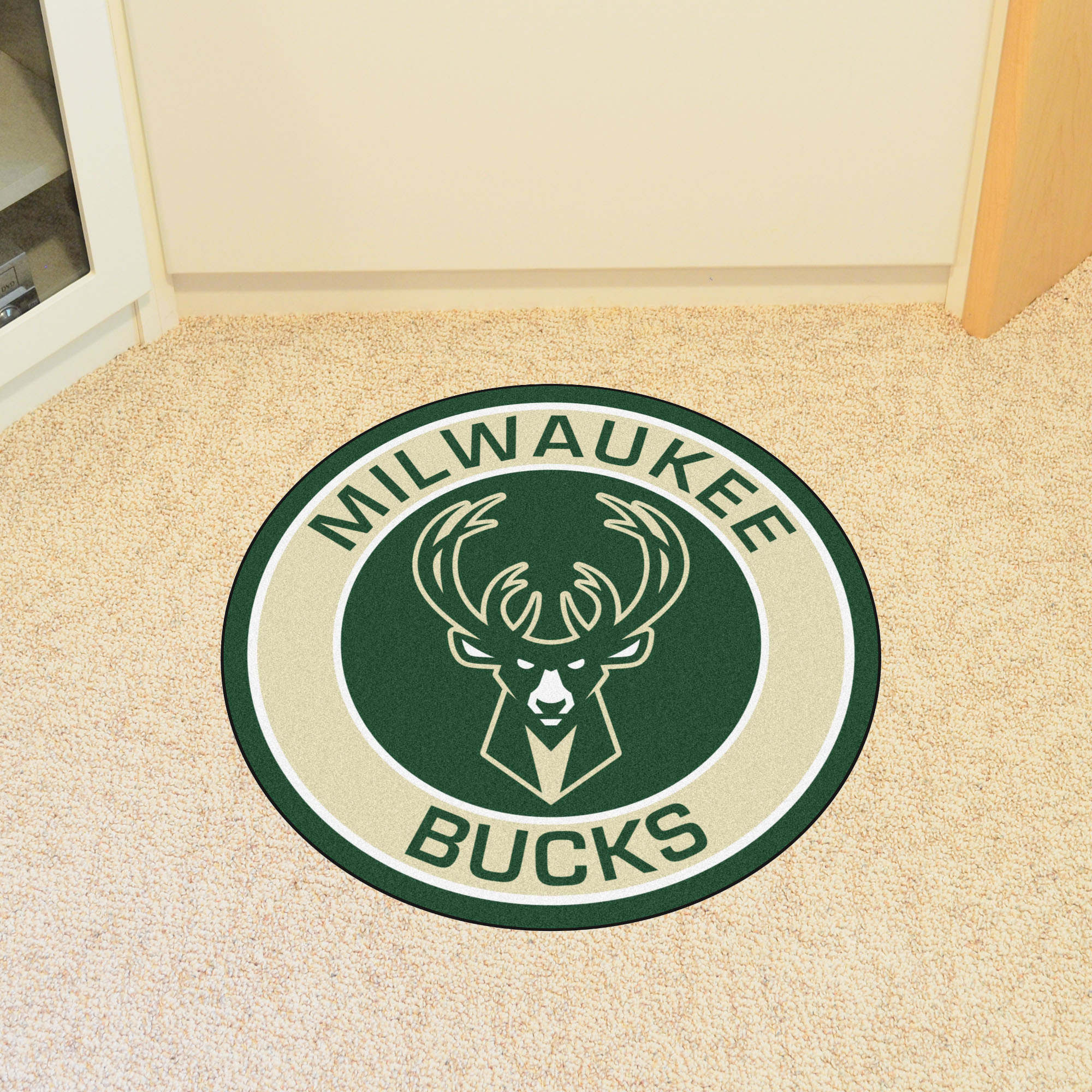 Milwaukee Bucks Roundel Mat
