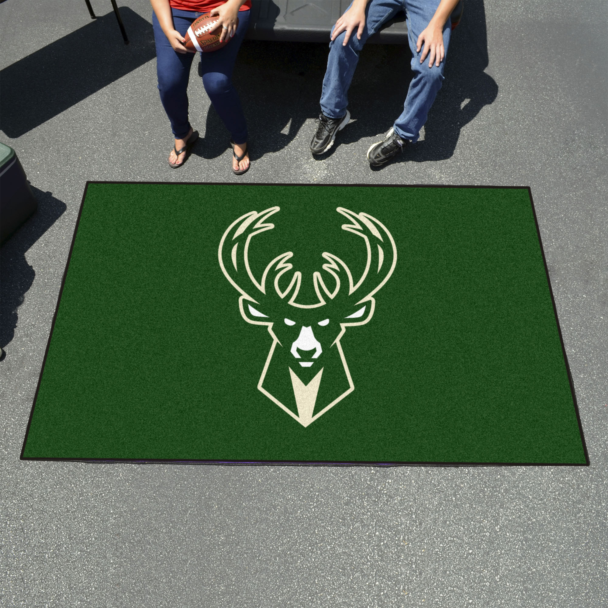 Milwaukee Bucks UTILI-MAT 60 x 96 Rug