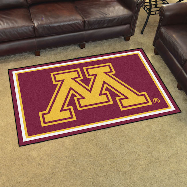 Minnesota Golden Gophers 4x6 Area Rug