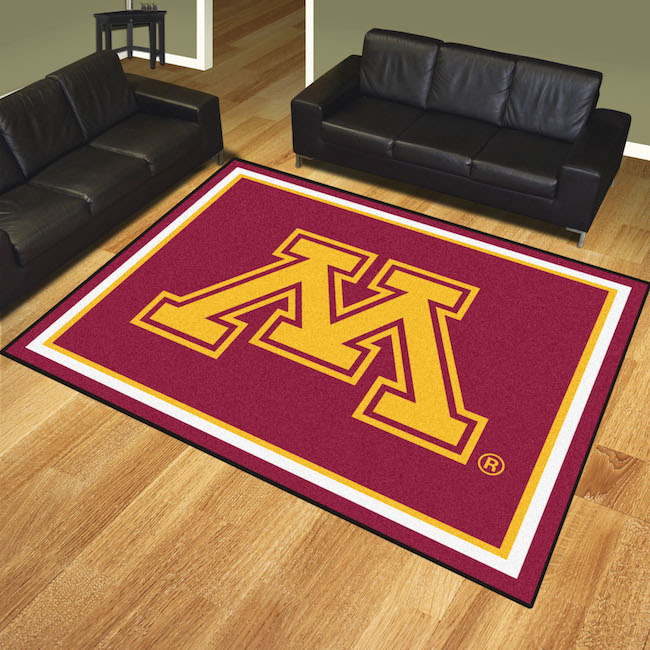 Minnesota Golden Gophers Ultra Plush 8x10 Area Rug
