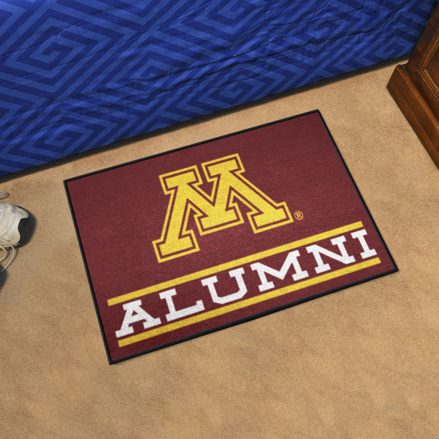 Minnesota Golden Gophers ALUMNI 20 x 30 Starter Floor Mat