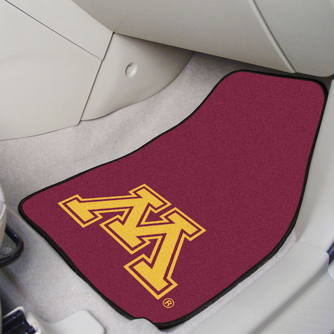 Minnesota Golden Gophers Car Floor Mats 18 x 27 Carpeted-Pair