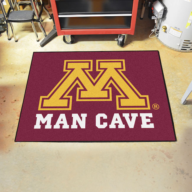 Minnesota Golden Gophers ALL STAR 34 x 45 MAN CAVE Floor Mat