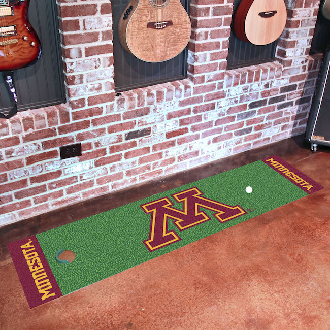 Minnesota Golden Gophers Putting Green Mat 18 x 72
