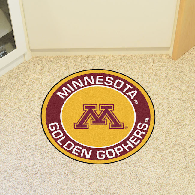 Minnesota Golden Gophers Roundel Mat