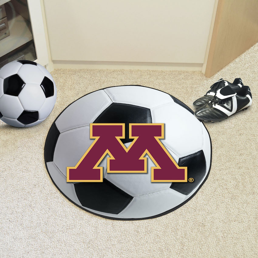 Minnesota Golden Gophers SOCCER BALL Mat