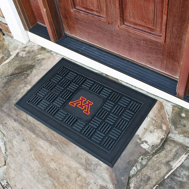 Minnesota Golden Gophers MEDALLION Vinyl Door Mat