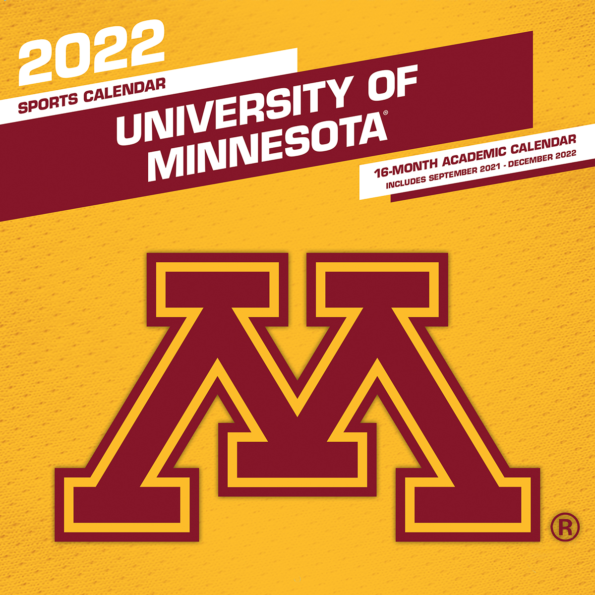 Minnesota Golden Gophers 2020 Wall Calendar