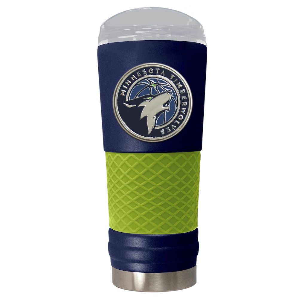 Minnesota Timberwolves 24 oz DRAFT SERIES NBA Powder Coated Insulated Travel Tumbler