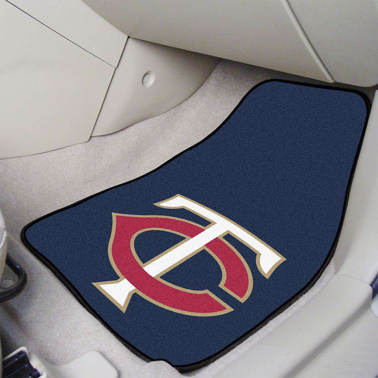 Minnesota Twins Car Floor Mats 18 x 27 Carpeted-Pair