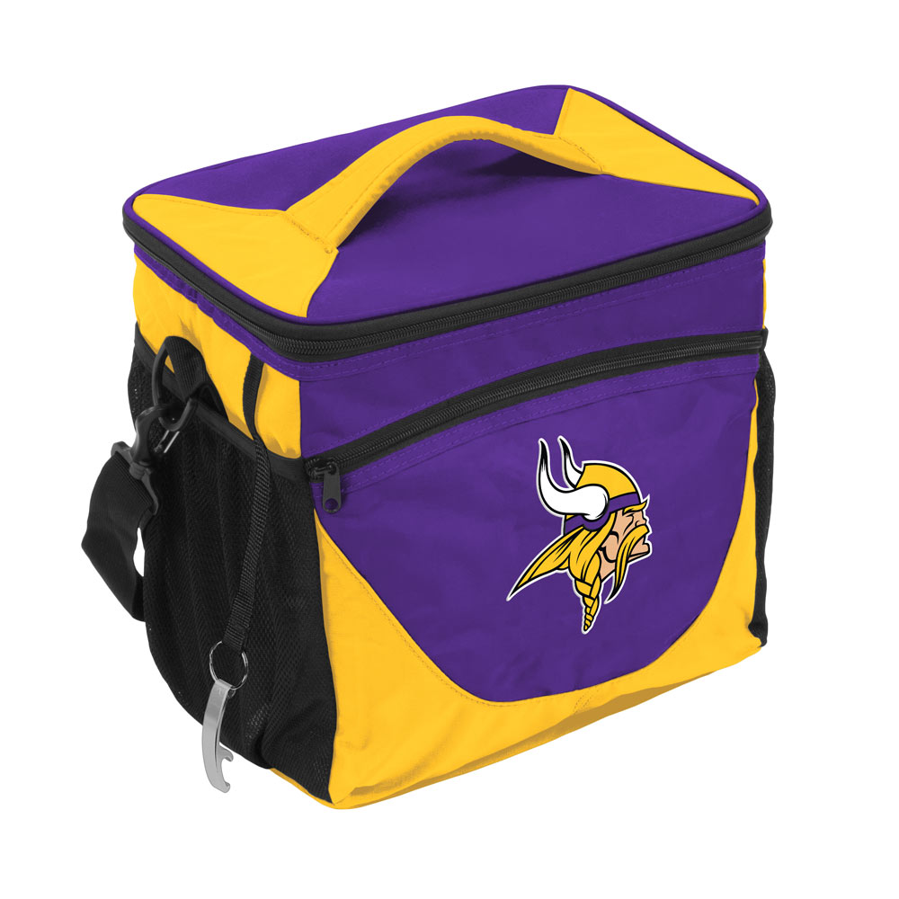 Minnesota Vikings 24 Can Cooler