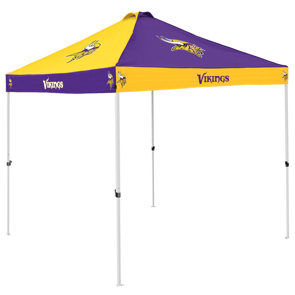 Minnesota Vikings Checkerboard Tailgate Canopy