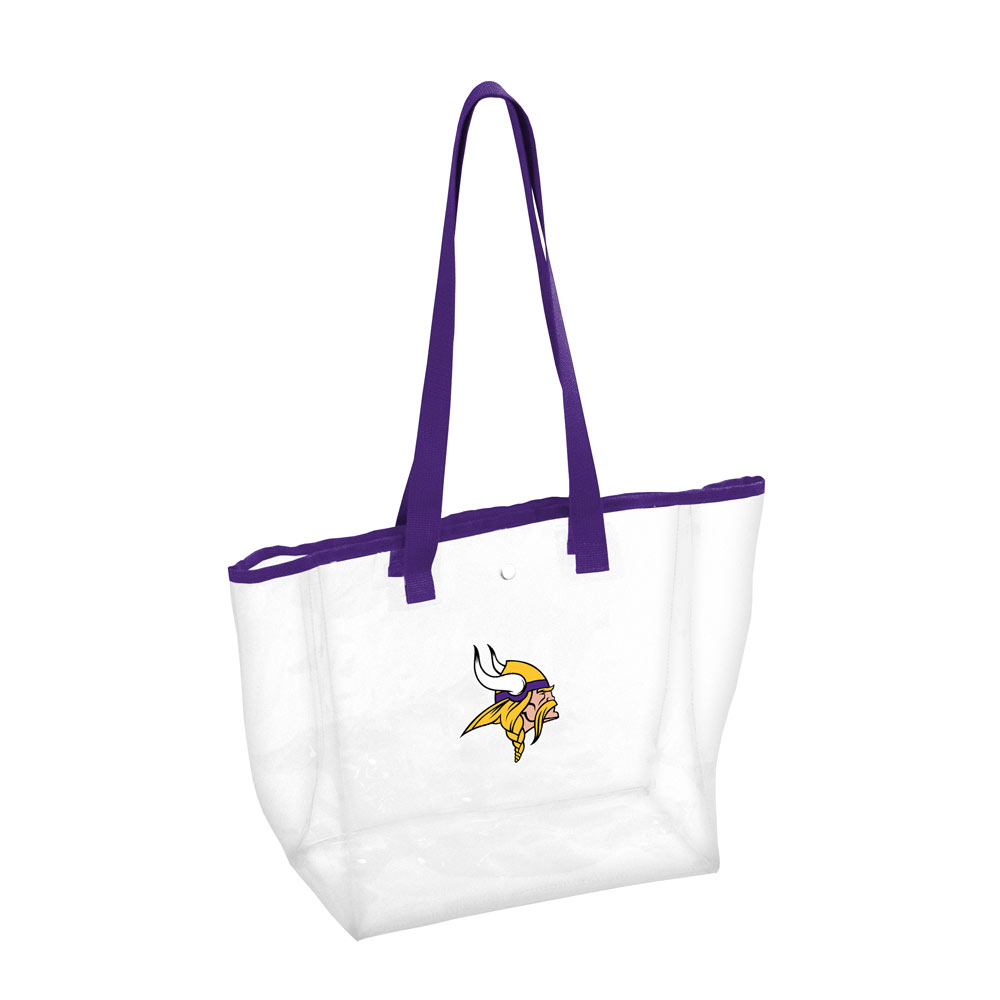 Minnesota Vikings Clear Stadium Tote