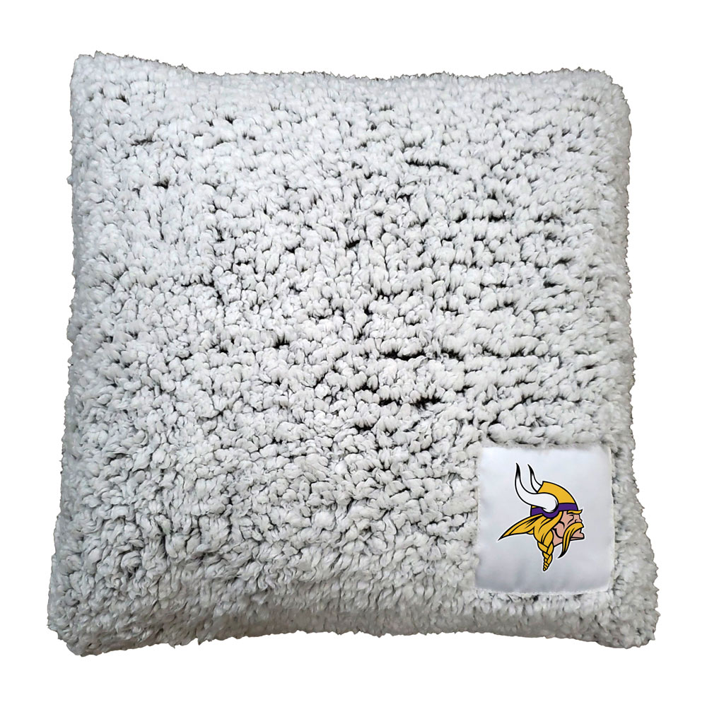 Minnesota Vikings Frosty Throw Pillow