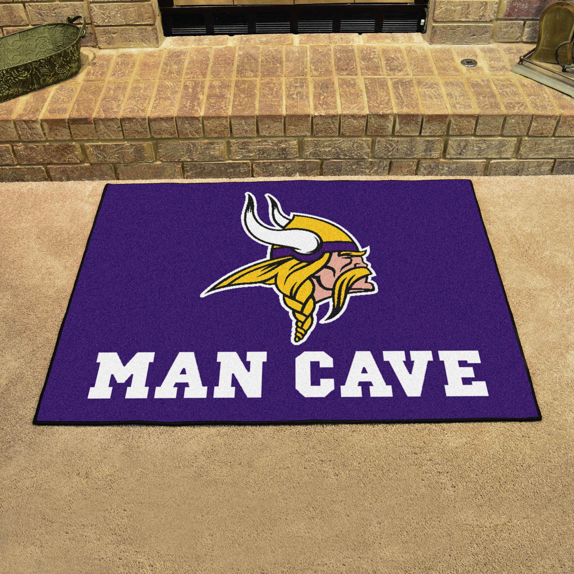 Minnesota Vikings ALL STAR 34 x 45 MAN CAVE Floor Mat