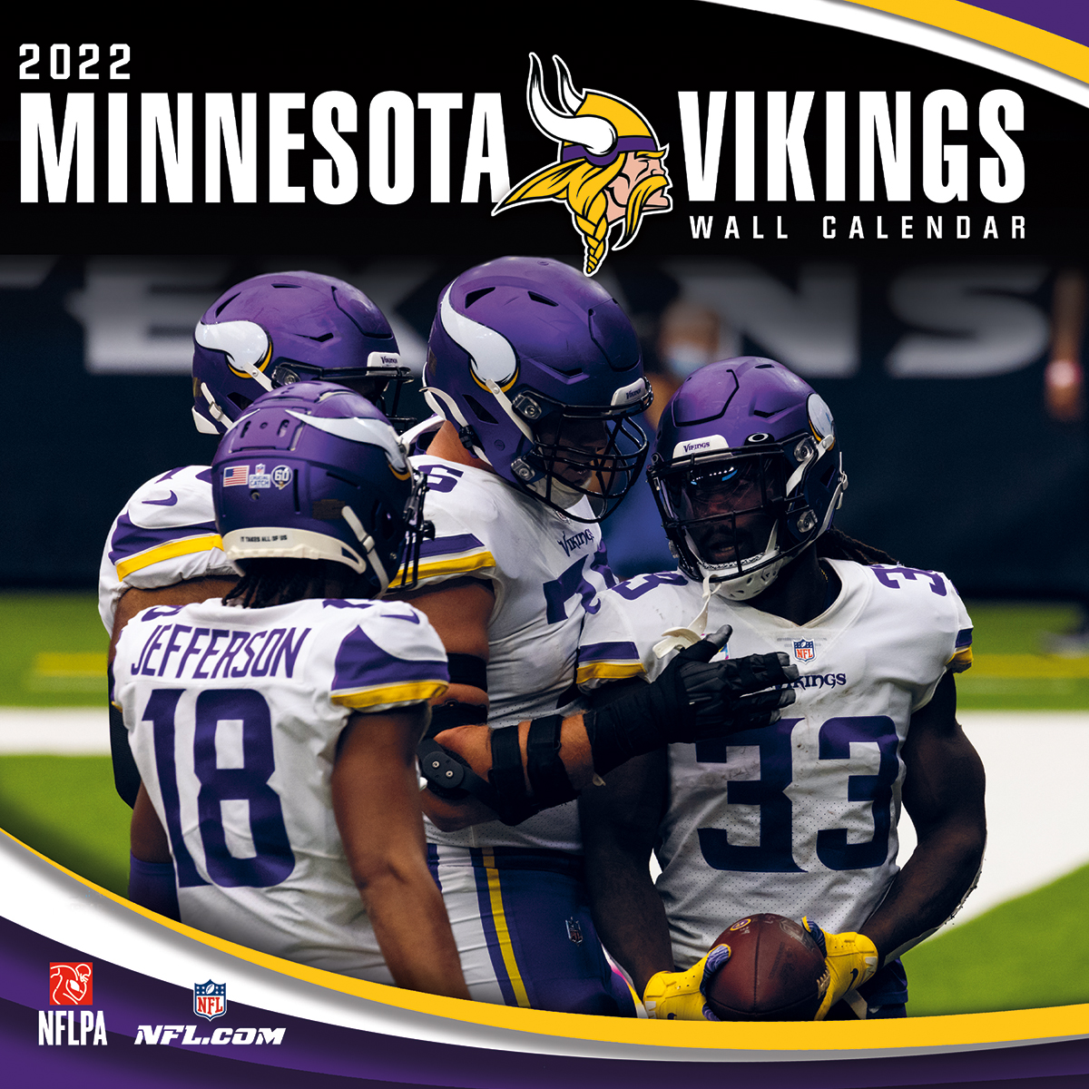 Minnesota Vikings 2021 NFL Mini Wall Calendar