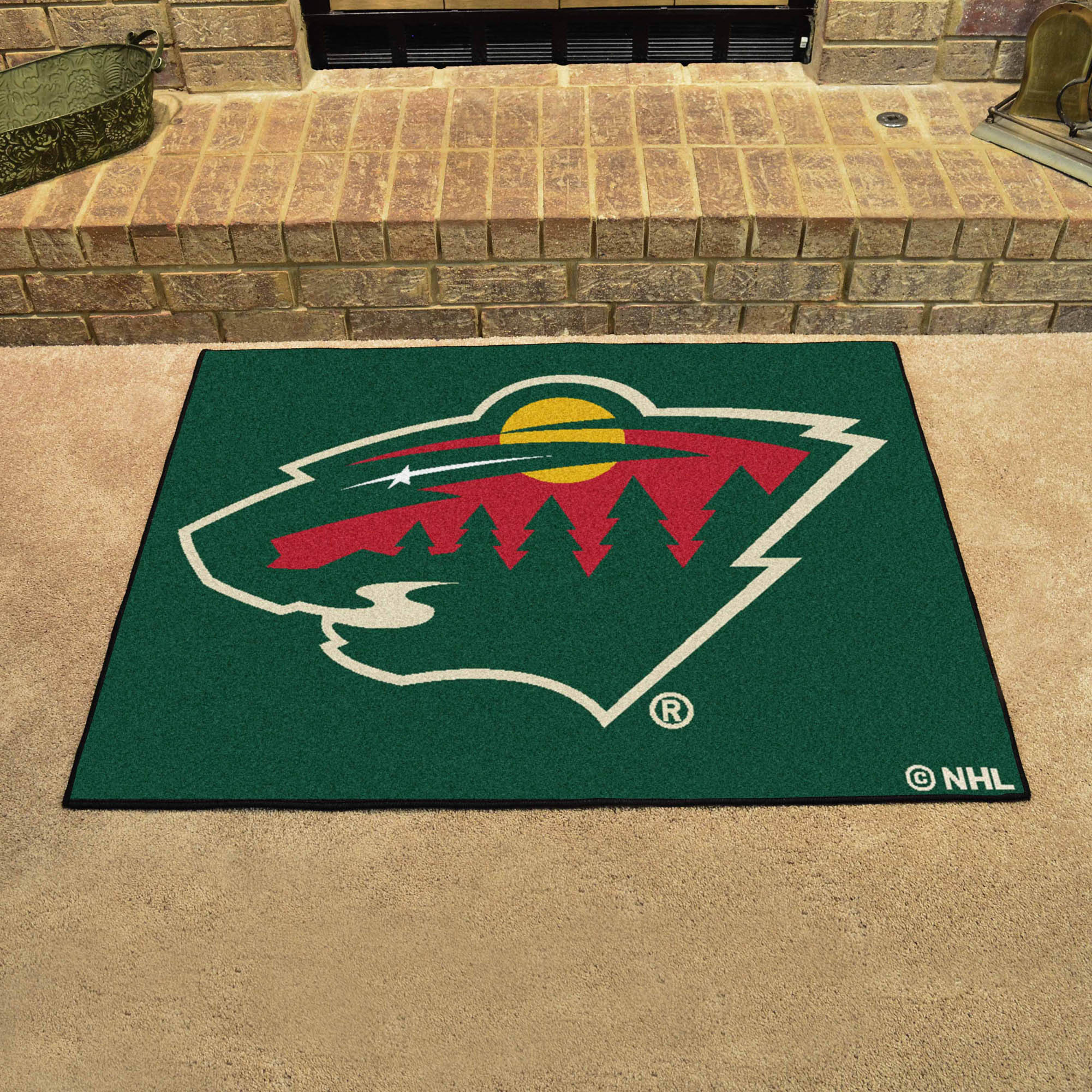 Minnesota Wild ALL STAR 34 x 45 Floor Mat