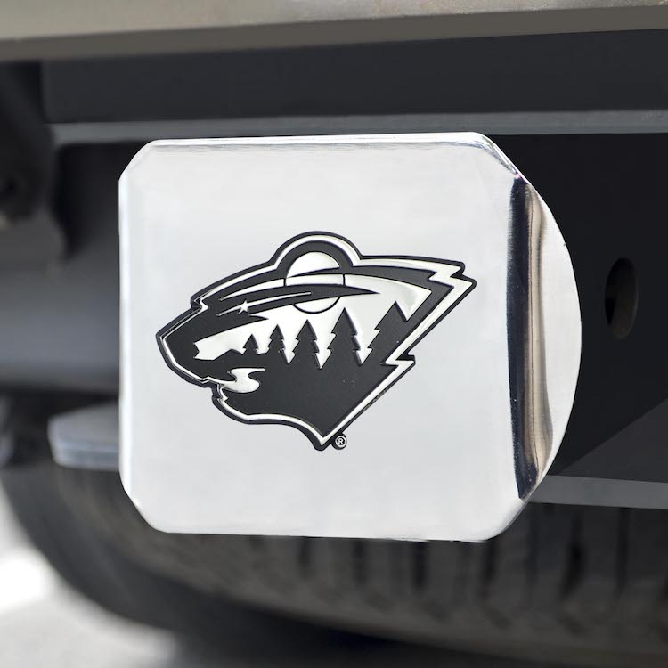 Minnesota Wild Trailer Hitch Cover