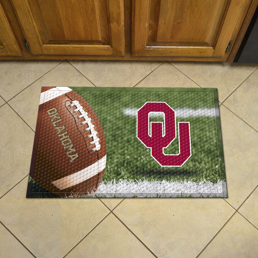 Mississippi Rebels Ball Style SCRAPER Door Mat