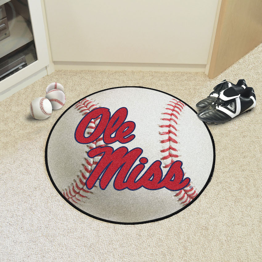 Mississippi Rebels BASEBALL Mat