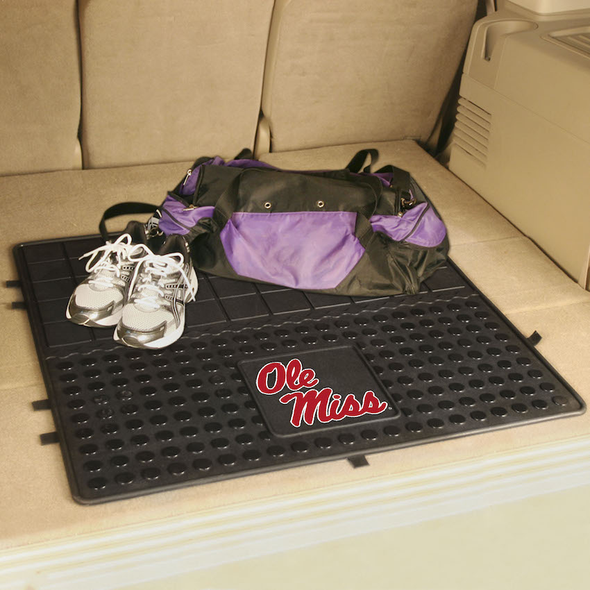 Mississippi Rebels Heavy Duty Vinyl Cargo Mat