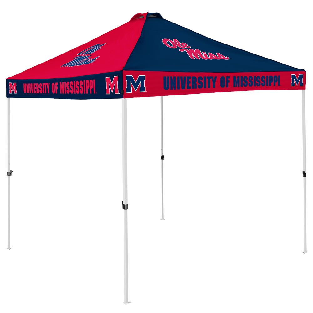 Mississippi Rebels Checkerboard Tailgate Canopy