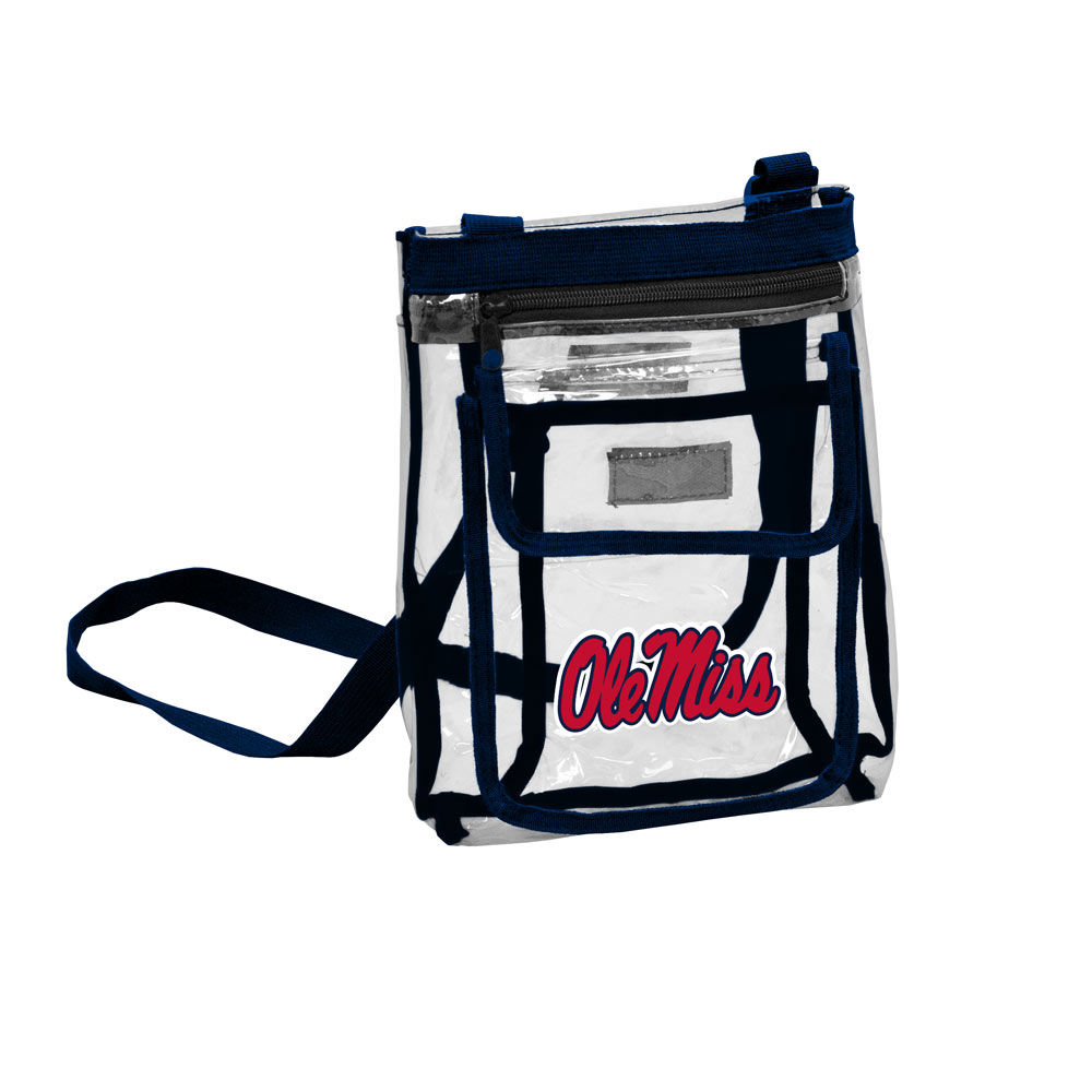 Mississippi Rebels GAMEDAY Clear Cross Body Pack