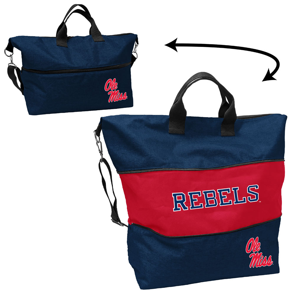 Mississippi Rebels Expandable Tote