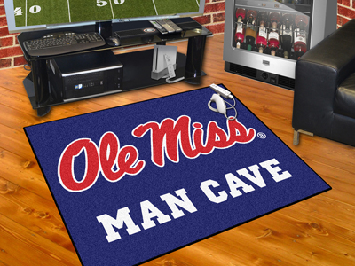 Mississippi Rebels ALL STAR 34 x 45 MAN CAVE Floor Mat