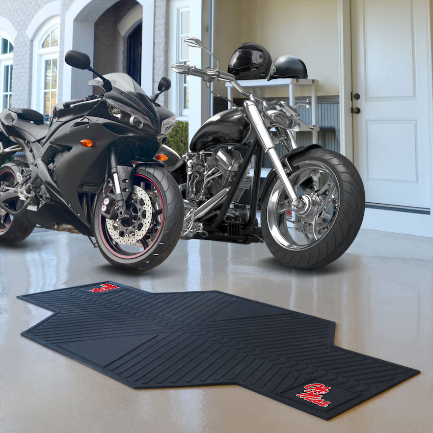 Mississippi Rebels Motorcycle Mat