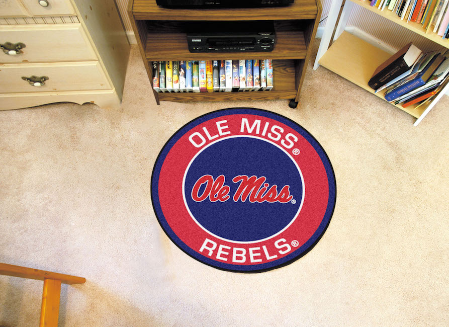 Mississippi Rebels Roundel Mat