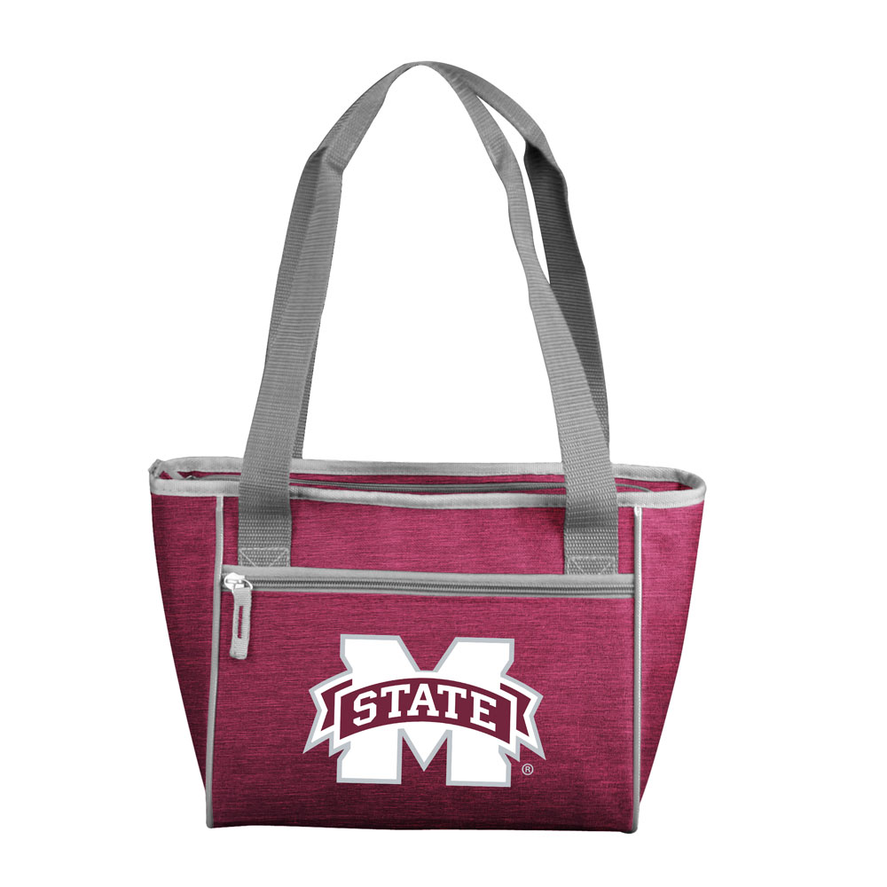 Mississippi State Bulldogs Crosshatch 16 Can Cooler Tote