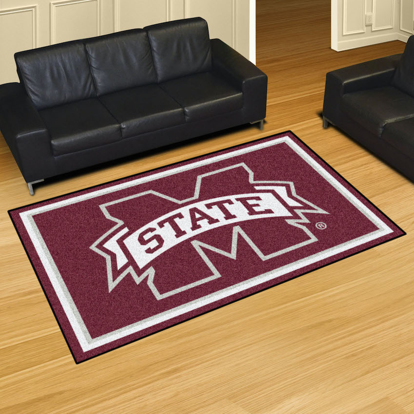 Mississippi State Bulldogs 4x6 Area Rug