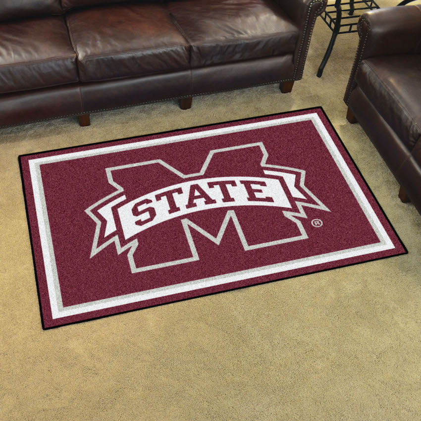 Mississippi State Bulldogs 5x8 Area Rug