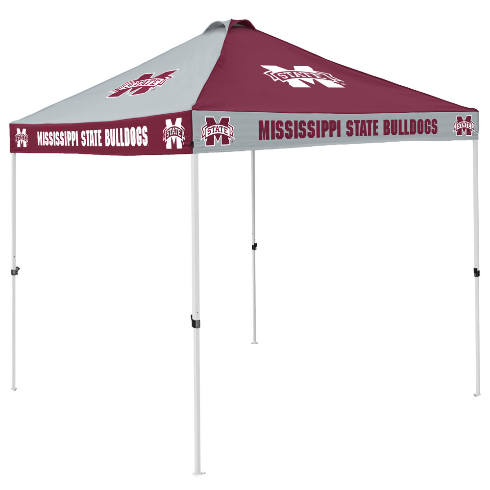 Mississippi State Bulldogs Checkerboard Tailgate Canopy