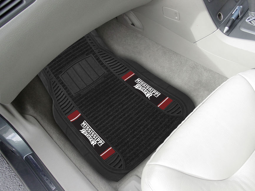 Mississippi State Bulldogs Deluxe 20 x 27 Car Floor Mats