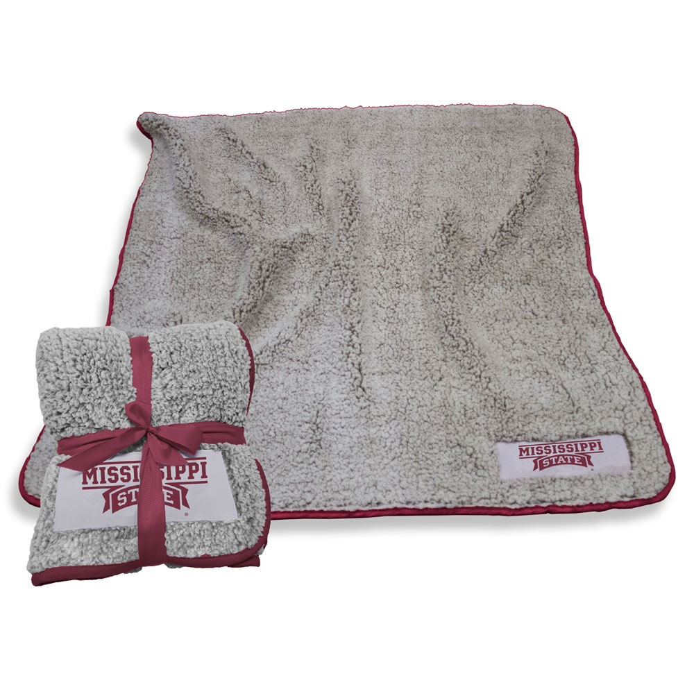 Mississippi State Bulldogs Frosty Throw Blanket