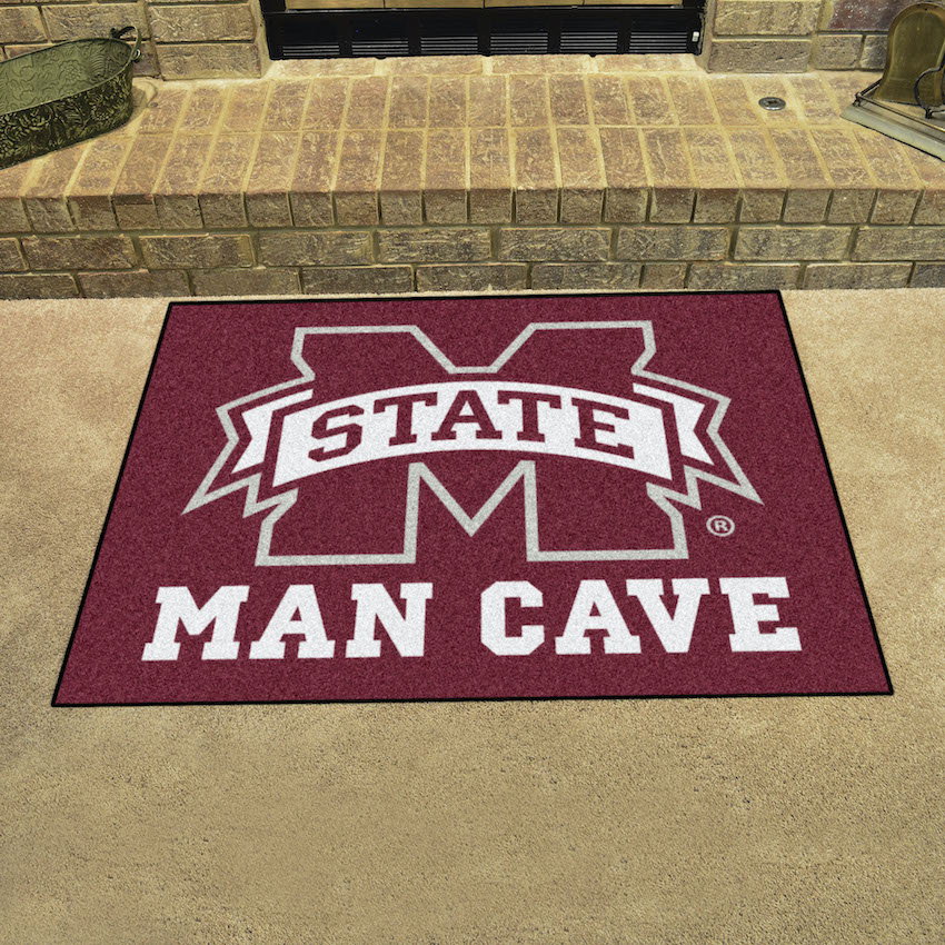 Mississippi State Bulldogs ALL STAR 34 x 45 MAN CAVE Floor Mat