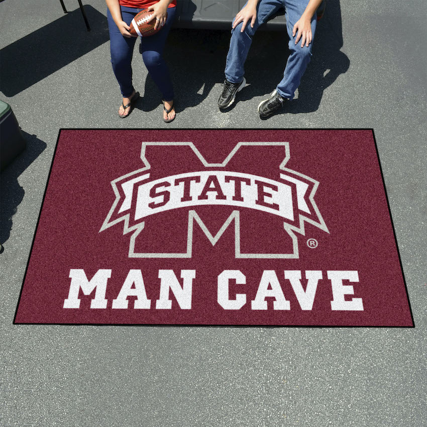 Mississippi State Bulldogs UTILI-MAT 60 x 96 MAN CAVE Rug