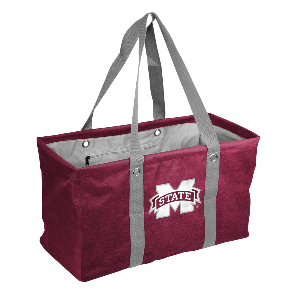 Mississippi State Bulldogs Crosshatch Picnic Caddy