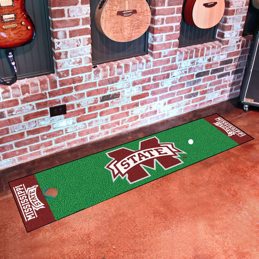 Mississippi State Bulldogs Putting Green Mat 18 x 72