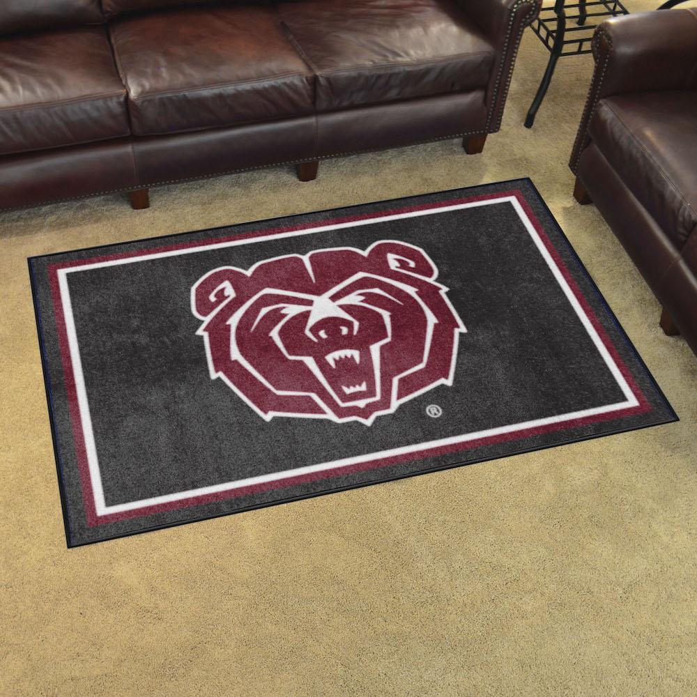 Missouri State Bears 4x6 Area Rug