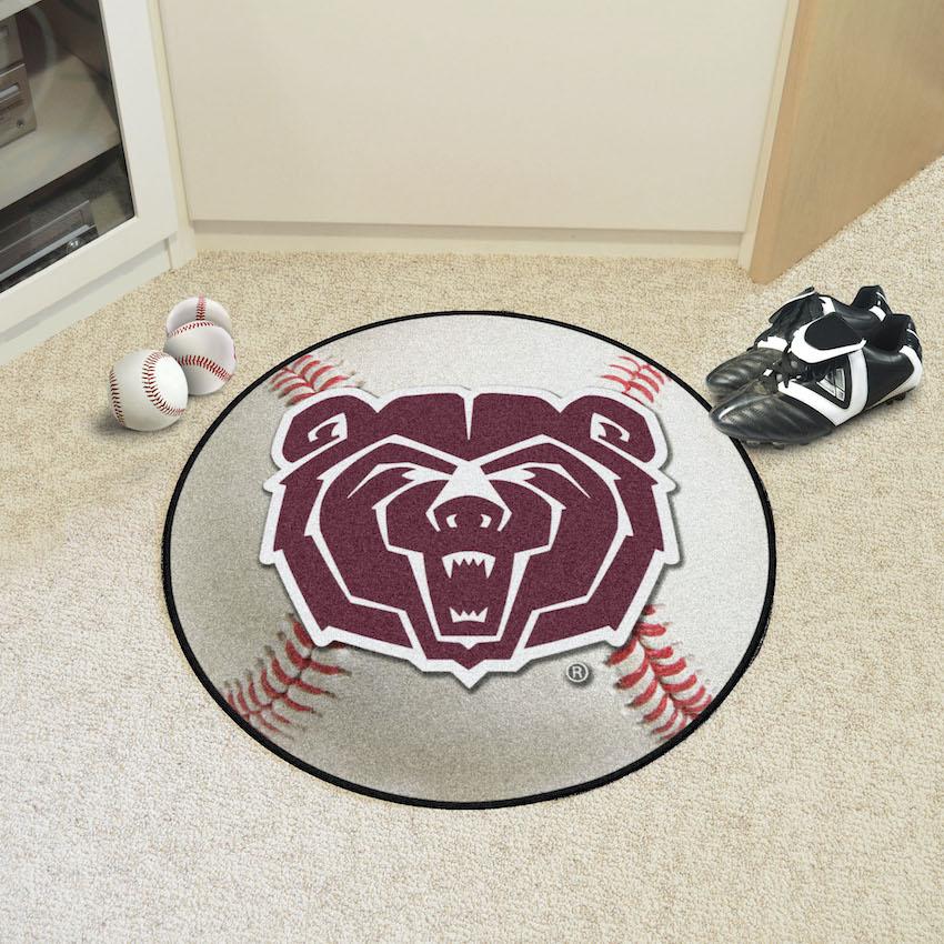 Missouri State Bears Baseball Floor Mat