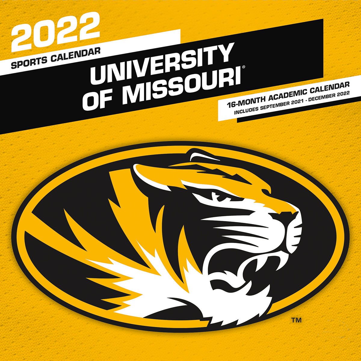 Missouri Tigers 2020 Wall Calendar