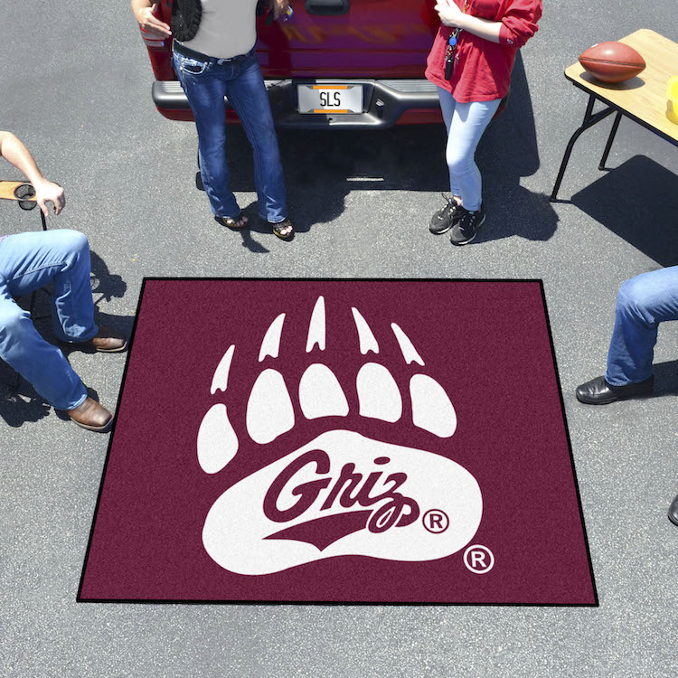 Montana Grizzlies TAILGATER 60 x 72 Rug