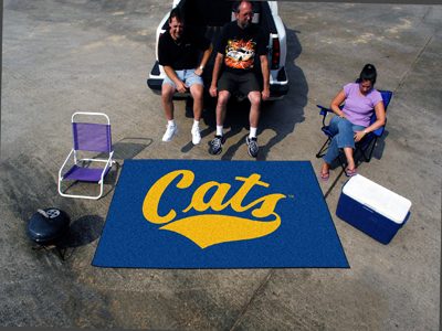 Montana State Bobcats TAILGATER 60 x 72 Rug