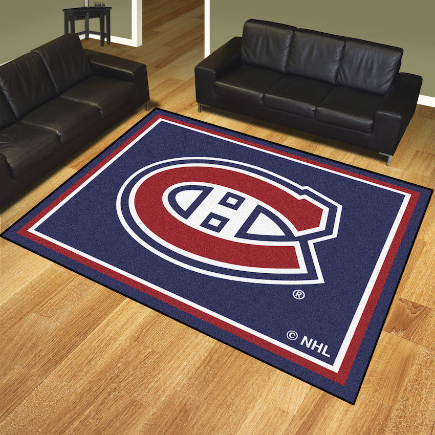 Montreal Canadiens Ultra Plush 8x10 Area Rug