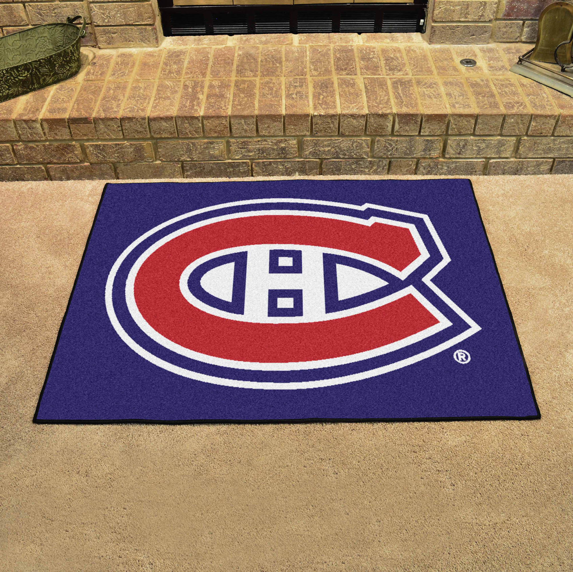 Montreal Canadiens ALL STAR 34 x 45 Floor Mat